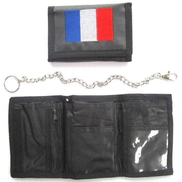 PORTEFEUILLE FRANCE FRANCAIS No écharpe drapeau maillot fanion casquette ...