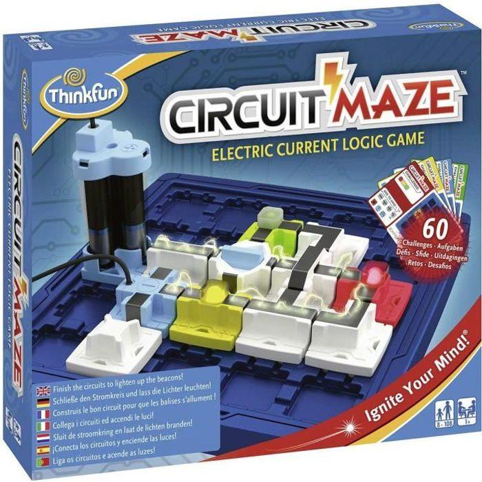 CIRCUIT MAZE - Jeu de Casse Tête - 60 Cartes Défis-Solutions