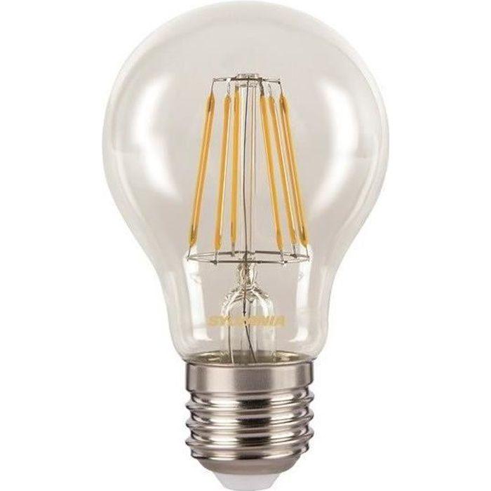 SYLVANIA Ampoule LED à filament Toledo Retro E27 7W équivalence 60W
