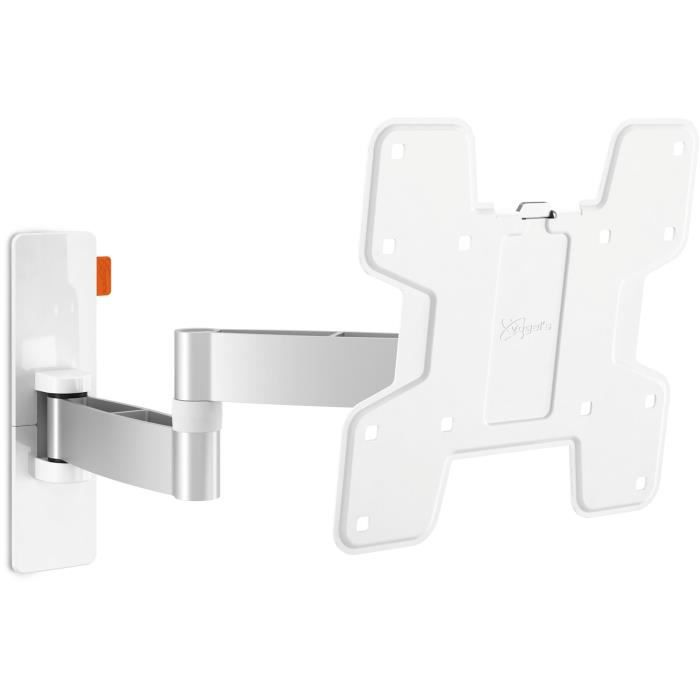 Vogel's WALL 3145 White - support TV orientable 180° et inclinable +/- 10° - 19-43- - 15kg max.