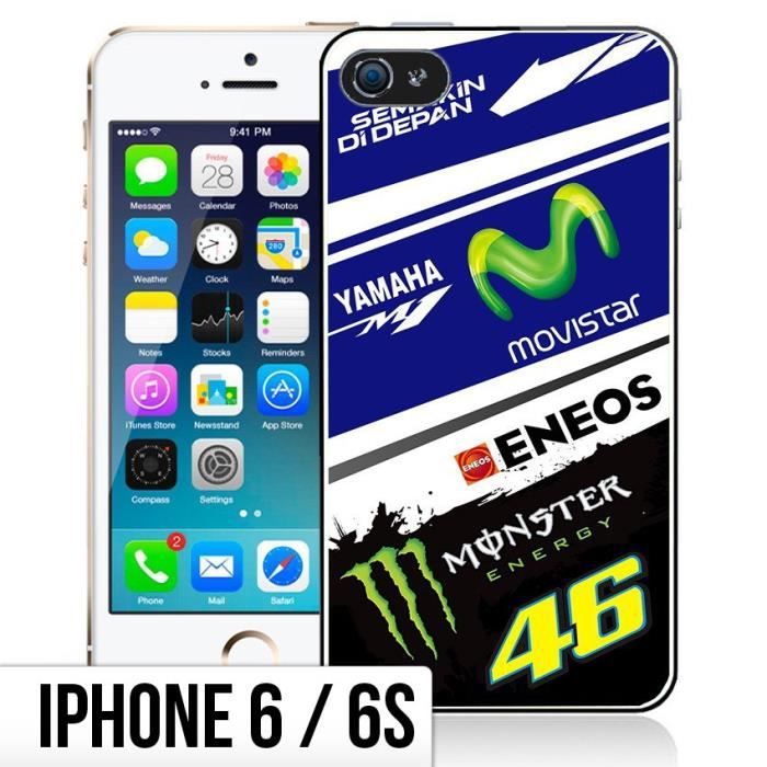 coque iphone 6 6s yamaha m1 rossi
