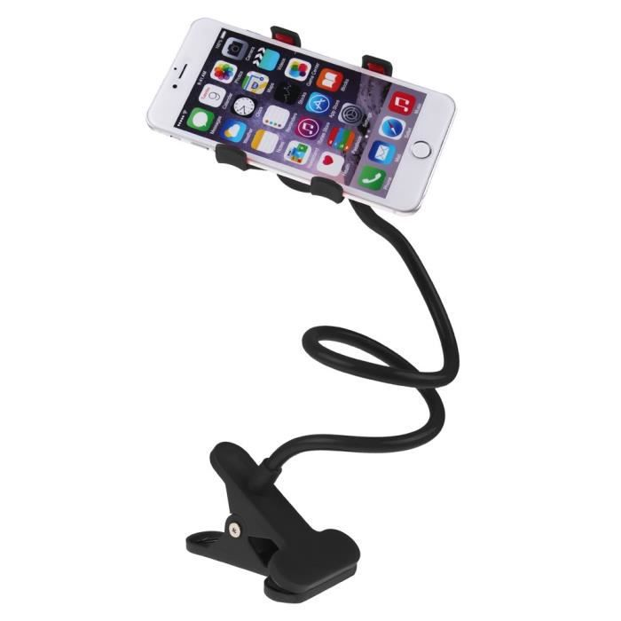 support flexible t l phone clips holder stand table lit pour mobile psp mp3 4 achat fixation. Black Bedroom Furniture Sets. Home Design Ideas