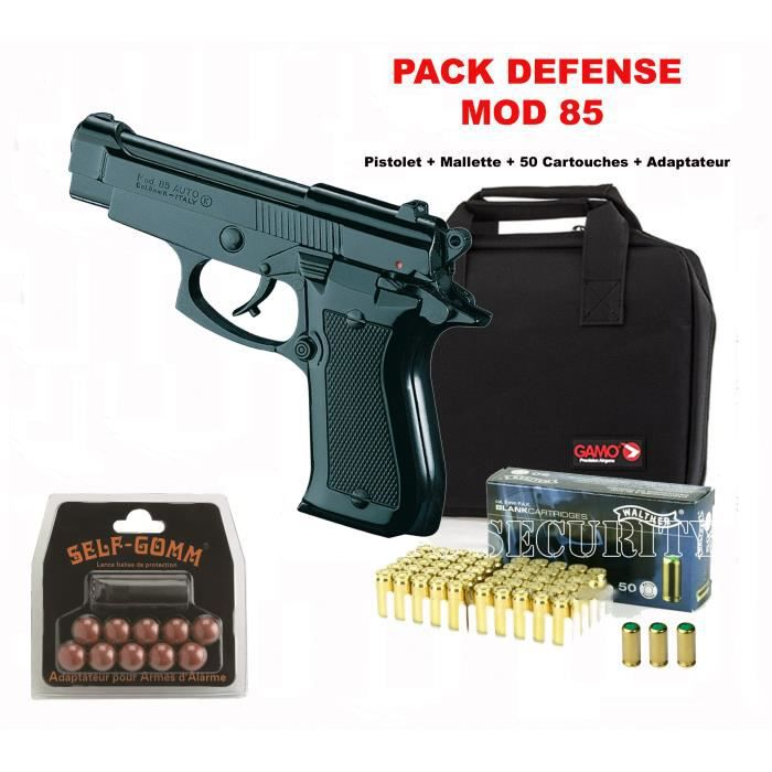 pistolet alarme pack mod 85 black cal 9mm p a k prix pas cher cdiscount. Black Bedroom Furniture Sets. Home Design Ideas
