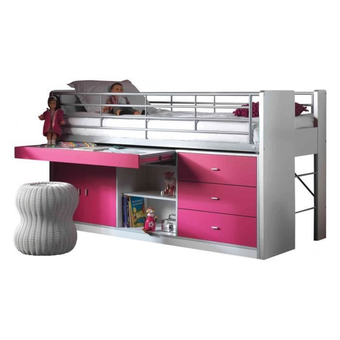 awesome lavabo pour baignoire lit enfant bureau rtractable laqu fuchsia bonny with bureau rtractable. Black Bedroom Furniture Sets. Home Design Ideas