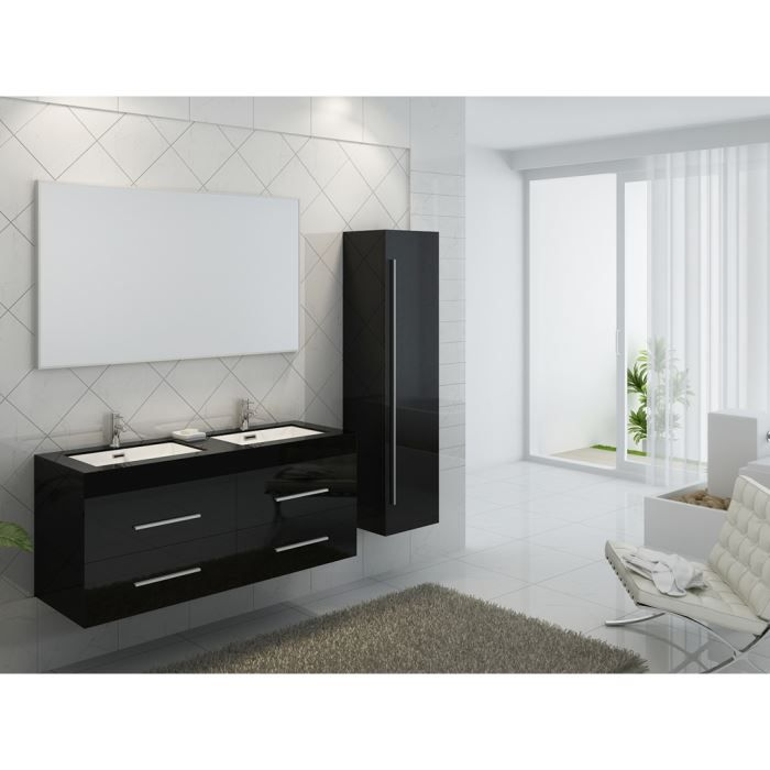 double colonne salle de bain. Black Bedroom Furniture Sets. Home Design Ideas