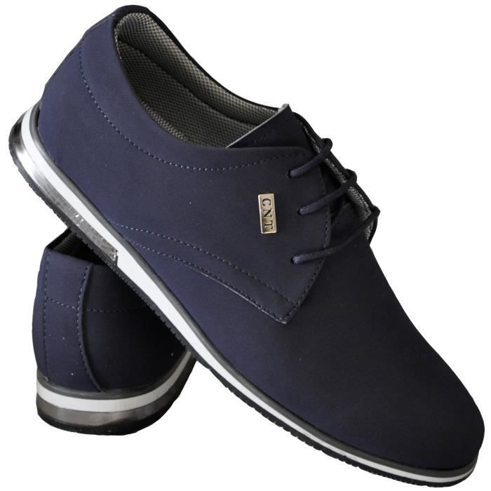 Chaussures bleues Casual femme