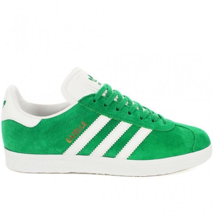Chaussures Adidas Gazelle | Basket basse à lacet - Vert et ...