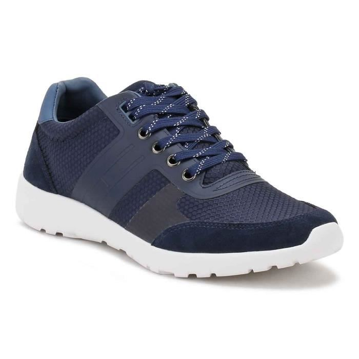 Tommy Hilfiger Homme Tommy Navy F2285URLONG l Baskets-UK 10.5