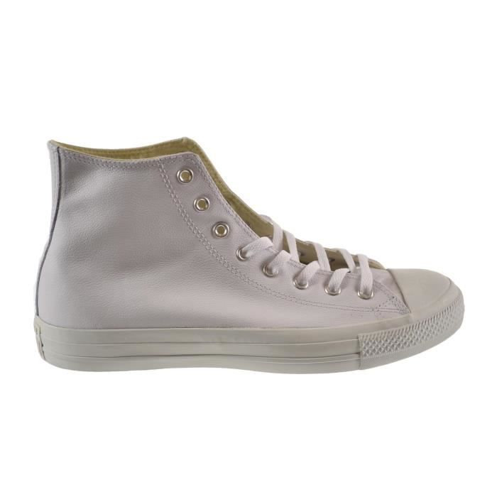 Converse Chuck Taylor a - cuir Salut Chaussures unisexe Blanc At406 PTXE8 46