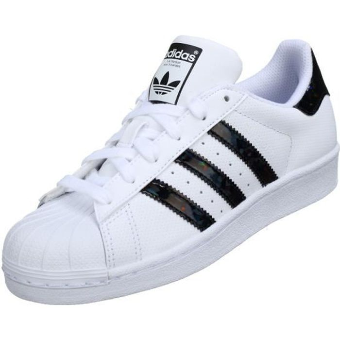 Basket Adidas Superstar J Db1209 Blanc / Noir