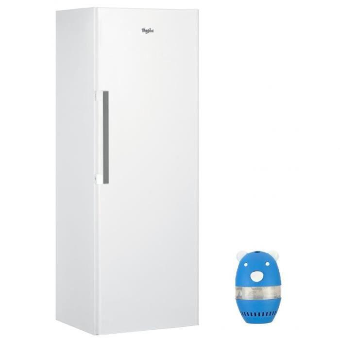 WHIRLPOOL Réfrigérateur Frigo simple porte blanc 363L A+ ...