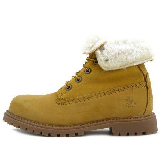jaune – Femme Bottes River Lumberjack SW00101 OZPkXuiTw