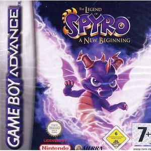 JEU GBA THE LEGEND OF SPYRO A NEW BEGINNING / GBA -