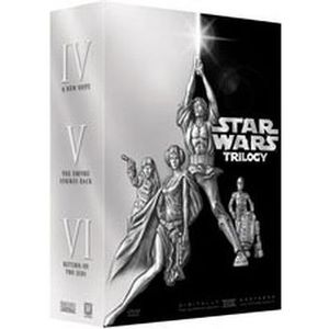 DVD FILM COFFRET 4 DVD STAR WARS TRILOGY