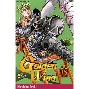 MANGA Jojo's Bizarre Adventure - Golden Wind - Tome 15