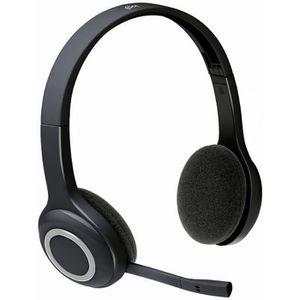 CASQUE AVEC MICROPHONE LOGITECH casque  sans fil bluetooth - H600 - filtr