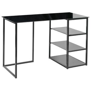 bureau verre trempe achat vente bureau verre trempe pas cher cdiscount. Black Bedroom Furniture Sets. Home Design Ideas