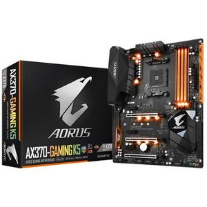 Gigabyte Carte m?re GA-AX370-Gaming K5 - AMD X370 - Socket AM4 - DDR4 - 2667 MHz - 64 Go - GA-AX370-Gaming K5