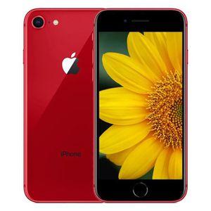 SMARTPHONE RECOND. iPhone 8 64GO rouge débloqué Grade A+++ remise à n