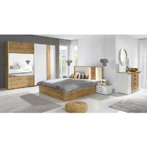 CHAMBRE COMPLÈTE  PRICE FACTORY Chambre à coucher complète WOOD chên