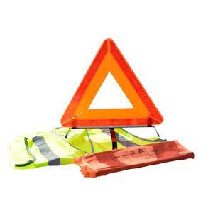 KIT DE SÉCURITÉ Kit Gilet de sécurité et triangle de signalisation