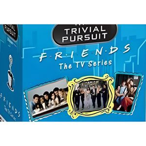 JEU SOCIÉTÉ - PLATEAU TRIVIAL PURSUIT - Friends (UK Only)