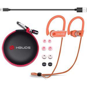 CASQUE - ÉCOUTEURS Casque Bluetooth 4.1 Écouteurs Audio sans Fil Spor