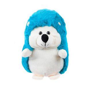 PELUCHE Kamparo jouet en peluche hérisson 14 cm bleu junio