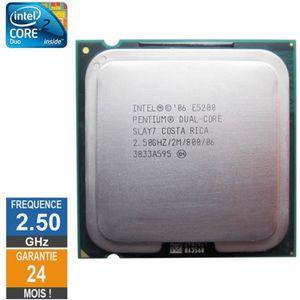PROCESSEUR Processeur Intel Pentium Dual-Core E5200 2.50GHz S