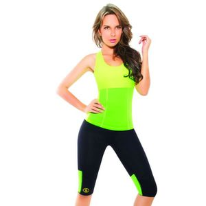 PACK FITNESS - GYM Gilet Sportif Multicolore Hotshapers Minceur Su...