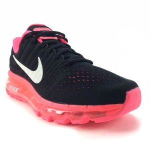 best service 2bd4a 02c73 BASKET NIKE Baskets Air Max 2017 - Mixte - Noir et rose
