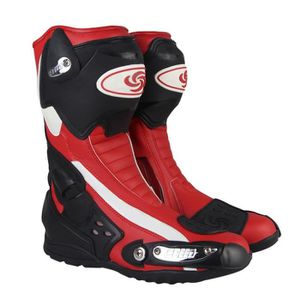 CHAUSSURE - BOTTE Bottes de Moto Homme Chaussures Protection Aératio