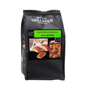 BISCUITS SECS MAISON TAILLEFER Financiers Gourmands aux amandes