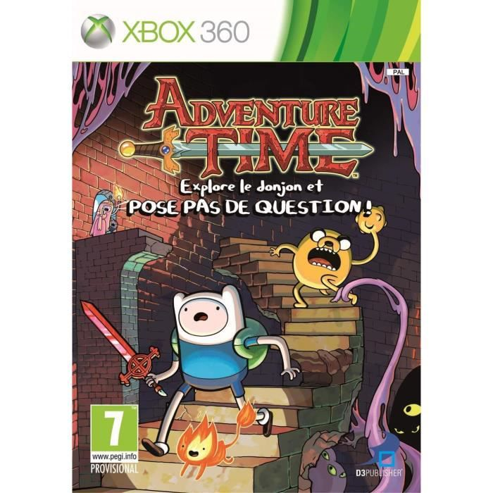 JEUX XBOX 360 Adventure Time Xbox 360