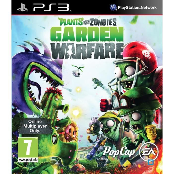 Plants vs zombies garden warfare jeu ps3 achat vente for Plante vs zombie garden warfare 2