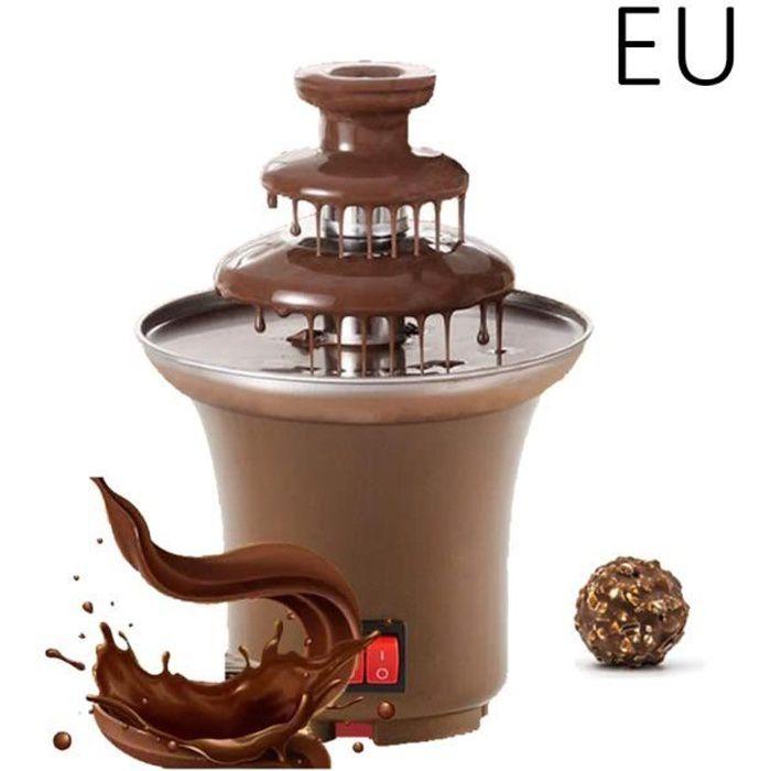 14.5cm 3 Cascades Fontaine de Chocolat Domestique Electrique Ustensiles de Cuisine - EU