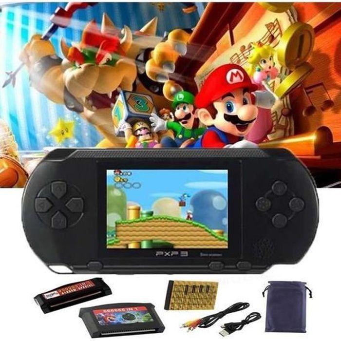 Console de jeux portable, jeu electronique,16 bits Jeu Vidéo 150+ jeu rétro PXP,Mini Console Portable Le meilleur cadeau pour Noël
