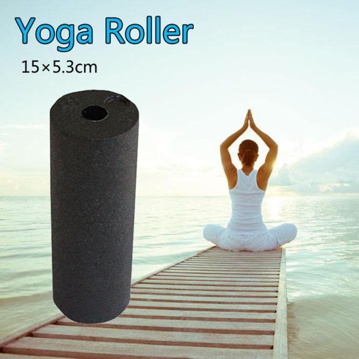 【Tapis de yoga】Accueil Yoga Pilates Fitness Rouleau de mousse Colonne de massage Exercice Sport_YU11782