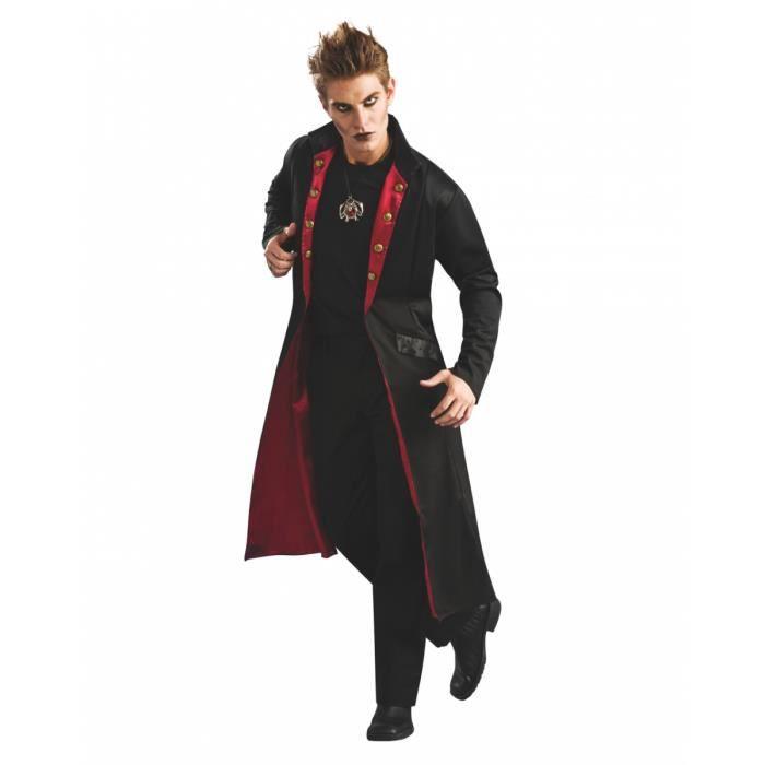 Noir vampire manteau