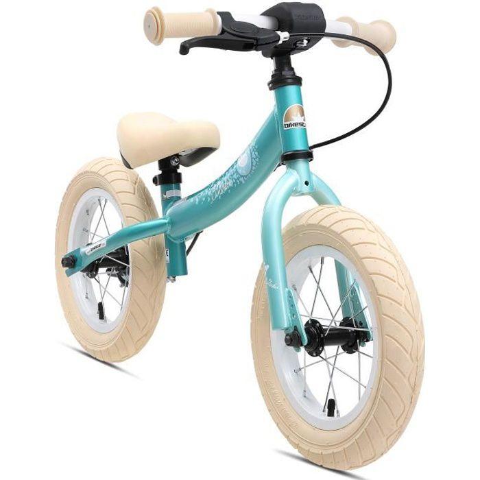 BIKESTAR - Draisienne - 12 pouces - pour enfants de 3-4 ans - Edition Sport - garçons et filles - Turquoise