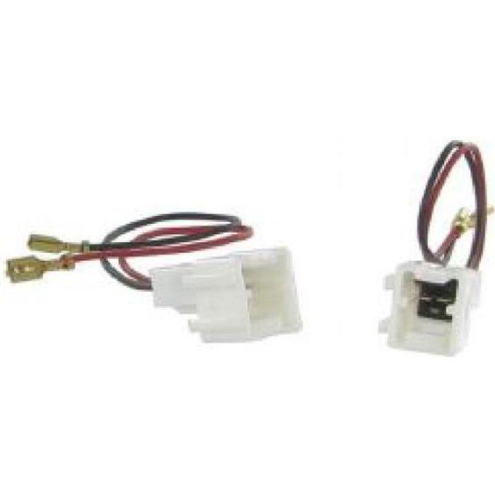 2 Cables adaptateurs haut parleur Dacia Sandero ap13/ Renault Clio ap12