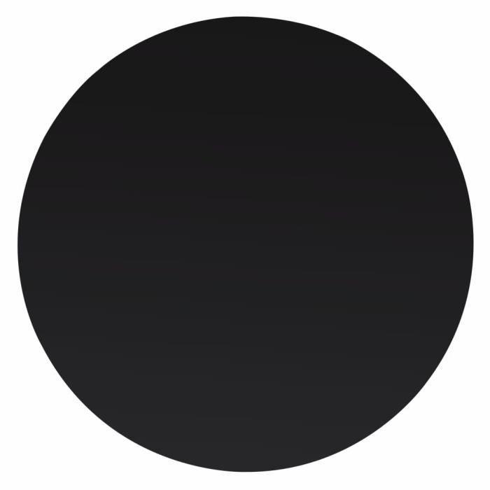 Dessus de table - PLATEAU DE TABLE - rond Verre trempé 400 mm