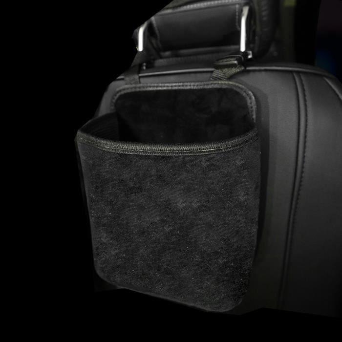 Small black Bag -Diamant strass sac de rangement de voiture suspendu Automobile organisateur siège support arrière style rangement r
