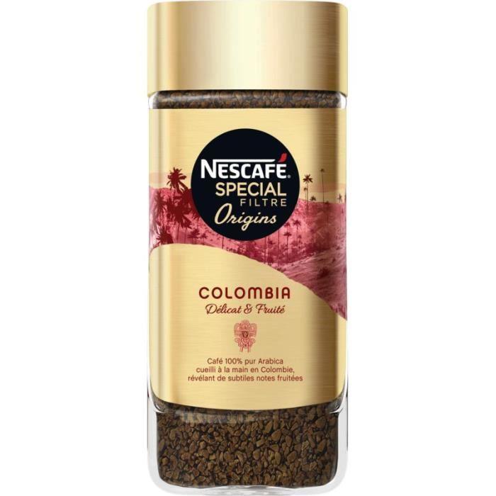 NESCAFE Café soluble Spécial Filtre Origins Colombia - 95G