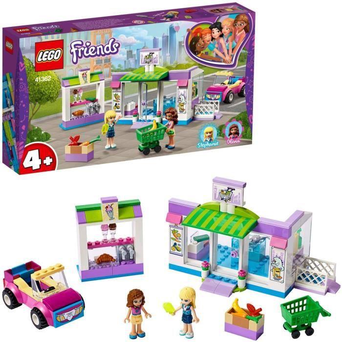 Jeux de construction LEGO®-Friends Le supermarché de Heartlake City Jouet pour Fille et Garçon à Partir de 4 Ans et Plus 52567
