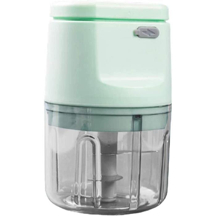 HACHOIR ELECTRIQUE LQG Mini Hachoir &eacutelectrique à l'ail, Petit Robot culinaire Hachoir pour Poivre Chili Viande v&e400