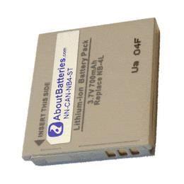 Batterie pour CANON IXUS DIGITAL 50
