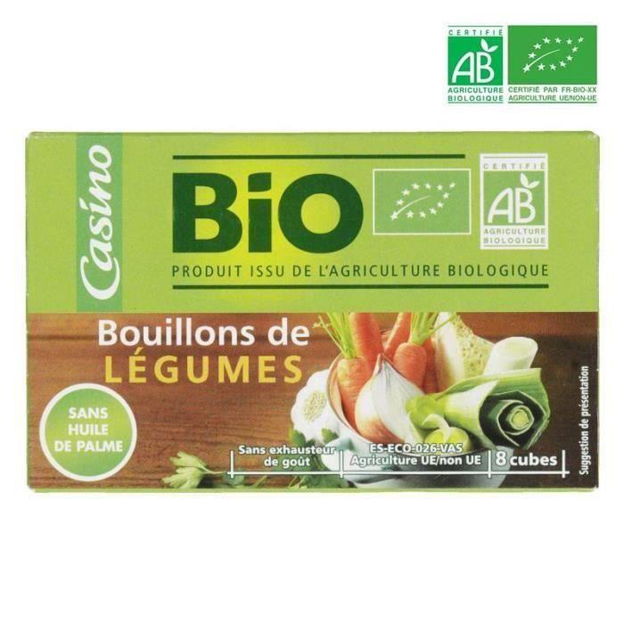 Bouillon de légumes - Biologique - 8 x 10 g - 80 g