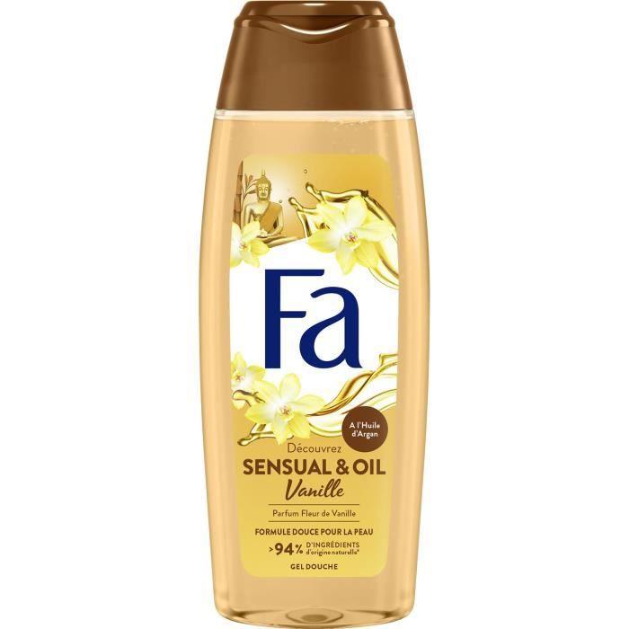 FA Douche Sensual & Oil Vanille 250ml