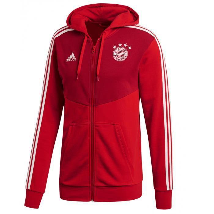 FC Bayern 3S Full Zip Hoodie